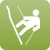 Abseiling is a form of descending from a height using a rope.